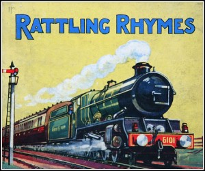 """Rattling Rhymes"" book cover photo"