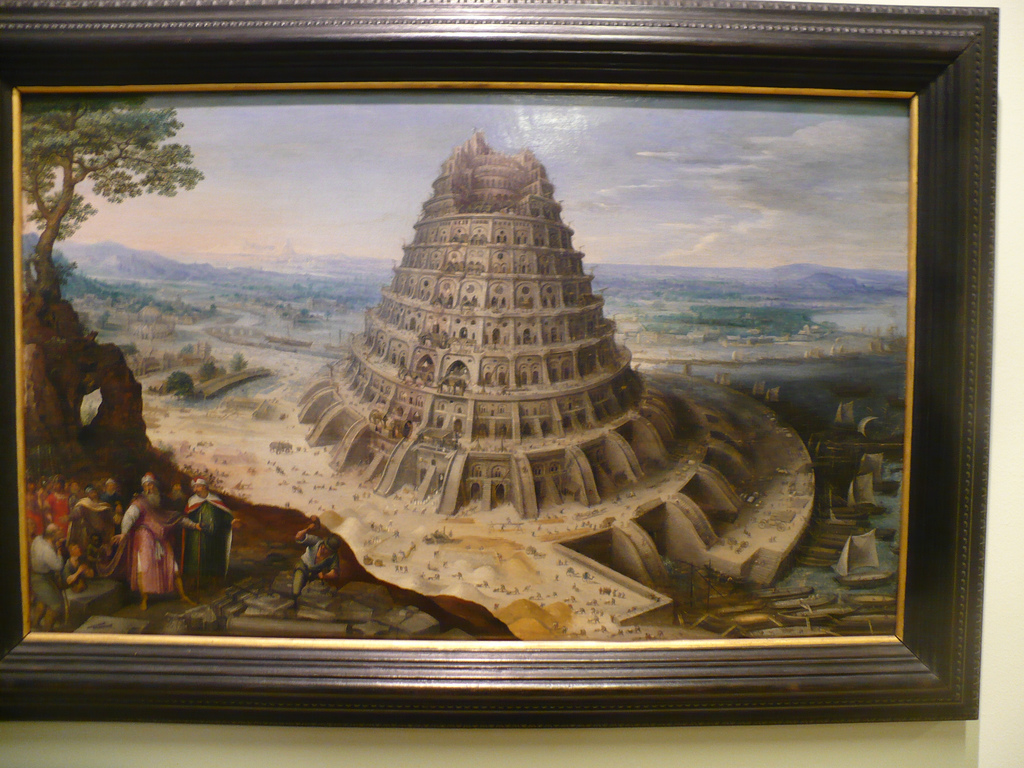 Tower Of Babel artwork -- an example of ungodly ambition