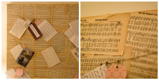 Hymnal Pages (Amazing Grace and The Old Rugged Cross)