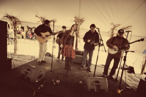 Bluegrass band, performing at Sojourn Fall Festival