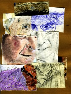 """""""Elderly Gentleman"""" by Lucia Whittaker, used via Creative Commons license, based on a work by David Hockney"""