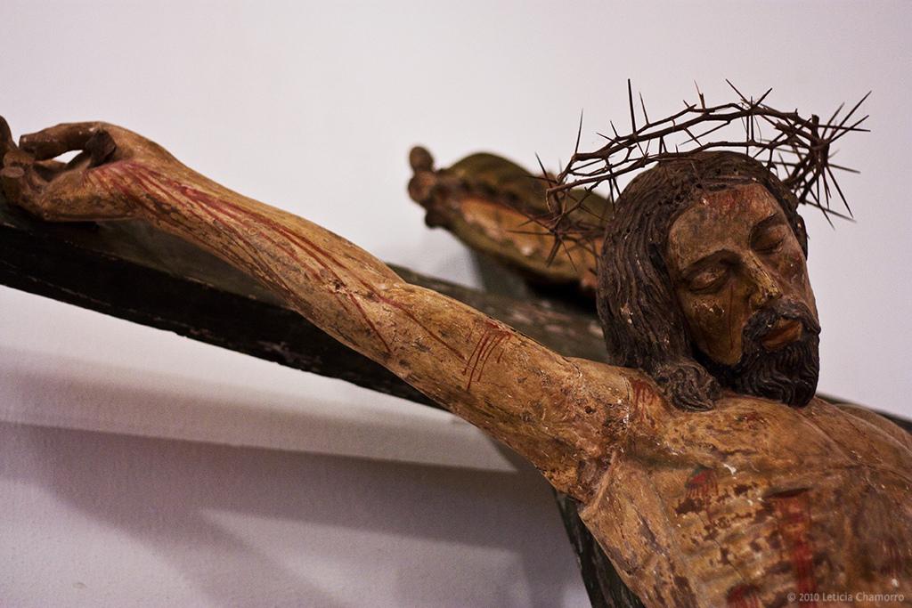Christ on the cross artwork