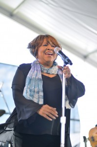 Mavis Staples performing at 2011 Newport Folk Festival