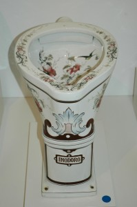One well-designed toilet bowl ...