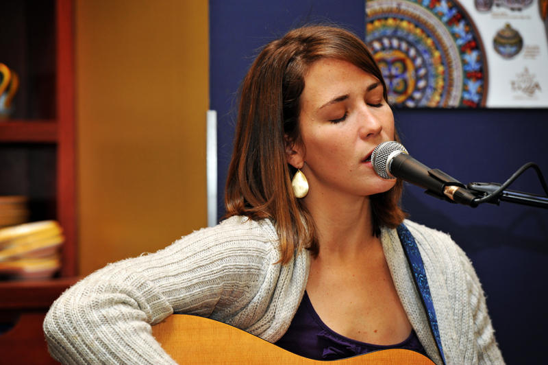 Singer-Songwriter Caroline Cobb of the Scripture To Music Collective