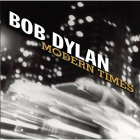 "Cover art for Bob Dylan's ""Modern Times"" record, 2006"