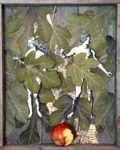 Fig Leaves liturgical  artwork by Sojourn visual artist Alan Vales