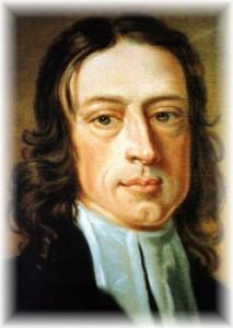 John Wesley closeup painting