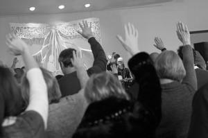 Matt Herp Christmas service photo at Sojourn Community Church