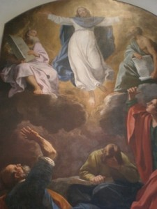 Resurrection of Jesus Christ on Easter painting