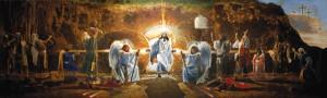 Fra Angelico, The Resurrection of Jesus Christ, 1400