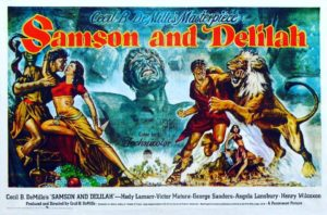 Samson and Delilah film poster