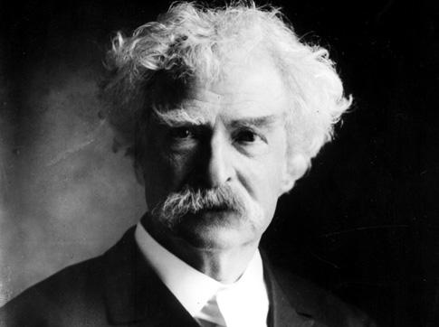 U.S. Writer Mark Twain