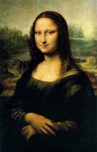 Mona Lisa painting by Da Vinci