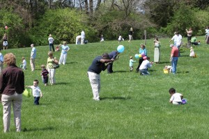 Easter Egg Hunt at Sojourn's East Campus, photographed by Troy Harvey