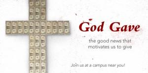 "Web banner version of Sojourn's ""God Gave"" sermon series artwork, created by Media Director Chris Bennett"