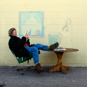 """Sojourn Visual Arts' """"In 3 Years"""" Homeless Art Project"""