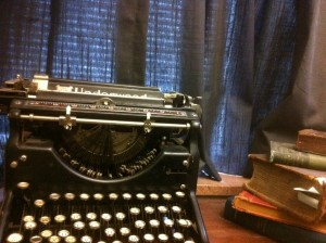 This antique Underwood typewriter in my office reminds me of the ambience of journalism's Golden Years